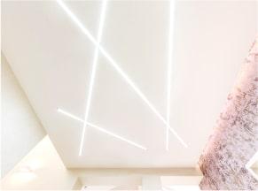Натяжные потолки с подсветкой 2